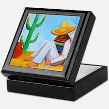 Mexican siesta Keepsake Box