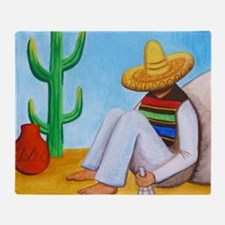 Mexican siesta Throw Blanket