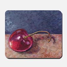 2-Door County Cherry Blue Tan Mousepad