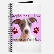 Pawprints on your heart Journal