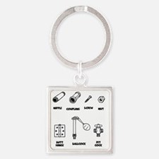2-sexy-parts-LTT Square Keychain