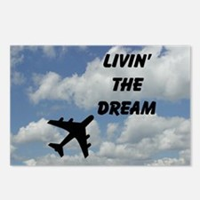 Living The Dream Postcards (Package of 8)