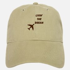 Living The Dream Baseball Baseball Cap BWN
