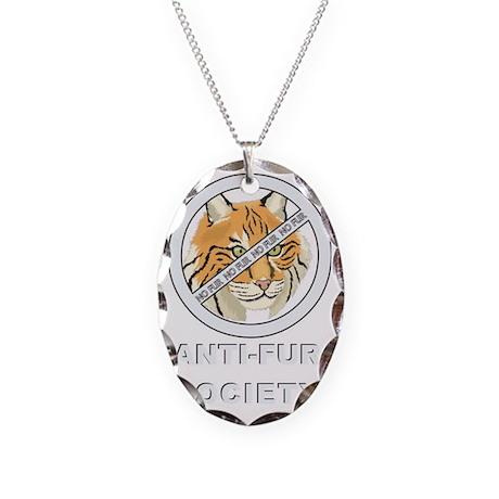Logobobcat Necklace Oval Charm
