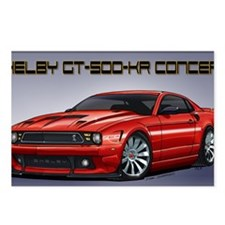 Shelby_Mustang_Concept Postcards (Package of 8)