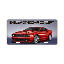 Shelby_Mustang_Concept Aluminum License Plate