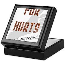 Fur walk away from it Keepsake Box