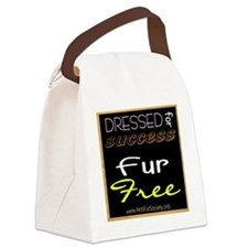 DRESSED FOR SUCCESS1 Canvas Lunch Bag
