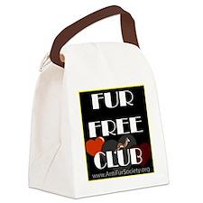 FUR FREE CLUB4 Canvas Lunch Bag