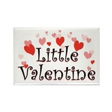 Little Valentine Rectangle Magnet