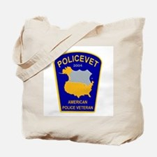 Policevet's Patch Tote Bag