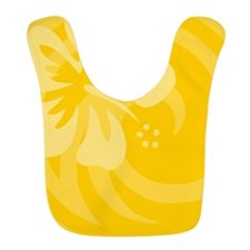 Hibiscus Yellow Bib
