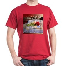 """Fidelity"" Rose Marriage Fine Art T-Shirt"