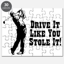 Drive It Like You Stole It Puzzle