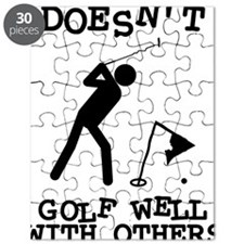 Doesn't Golf Well With Others Puzzle