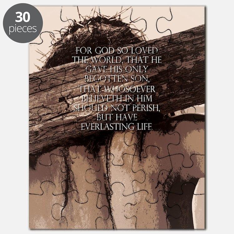 JOHN_316_23x35_print Puzzle