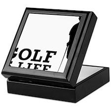 Golf Is Life Keepsake Box
