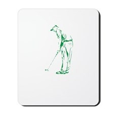 Golfing Is My Job copy Mousepad