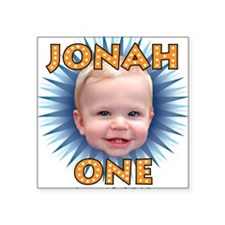 "Jonah BDay Artwork2 Square Sticker 3"" x 3"""