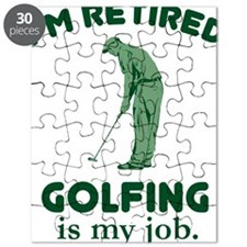 Golfing Is My Job Puzzle