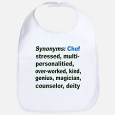 Synonyms: Chef Bib