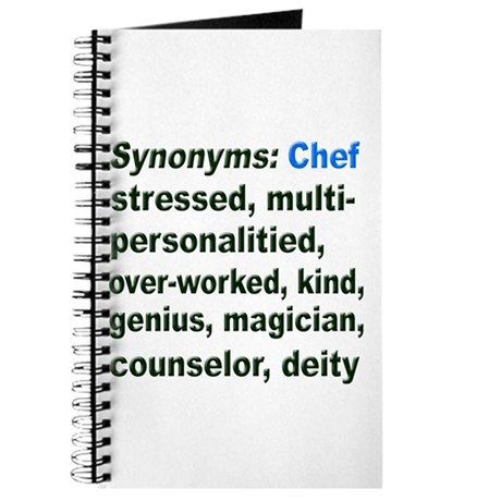 Synonyms: Chef Journal