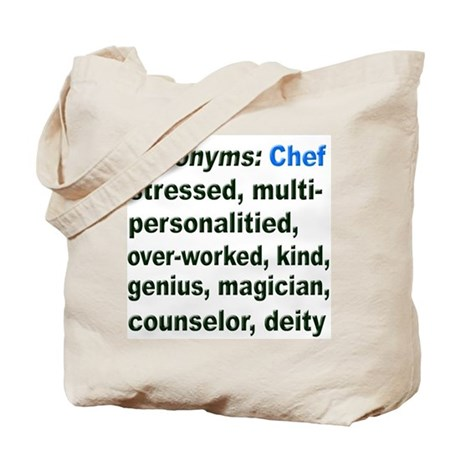 synonyms chef tote bag by kissdacook