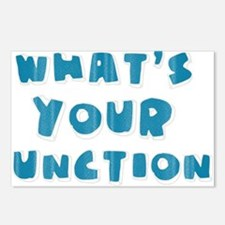Whats Your Function Blue Postcards (Package of 8)