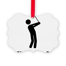 I Do All My Own Stunts Ornament