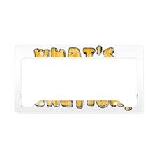 Whats Your Function License Plate Holder
