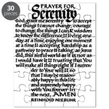 FULL SERENITY.PRAYER Puzzle