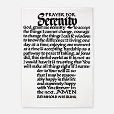 FULL SERENITY.PRAYER 5'x7'Area Rug