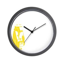 Whos Your Caddy copy Wall Clock