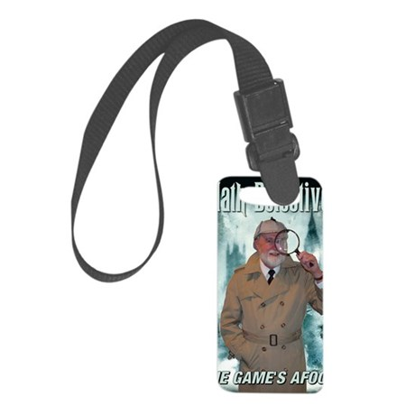 2-poster Small Luggage Tag