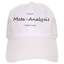 meta-analysis Baseball Cap