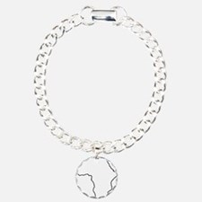 African continent outlin Bracelet