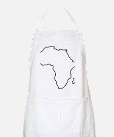 African continent outline Apron