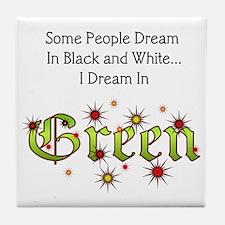 Dream-Green lg Tile Coaster