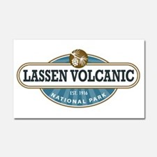 Lassen Volcanic National Park Car Magnet 20 x 12