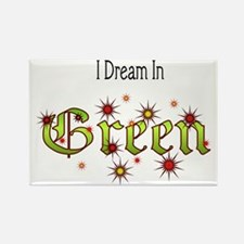Dream-Green2 Rectangle Magnet