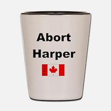 Abort Harper Shot Glass
