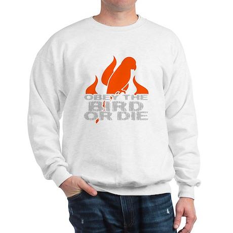 obeyBirdDark Sweatshirt