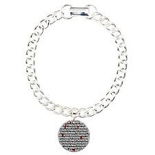 fibonacci-pi_mouse-pad Charm Bracelet, One Charm