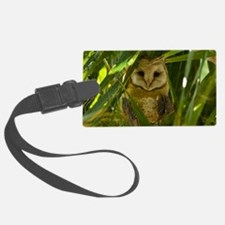 Palm Tree Owlet Luggage Tag