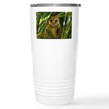 Palm Tree Owlet Travel Mug