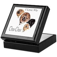I Love my Chow Chow Keepsake Box