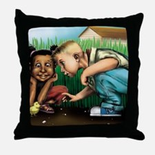Lost  Found Throw Pillow