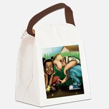 Lost  Found Canvas Lunch Bag