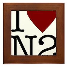 I LoveN2Art Framed Tile