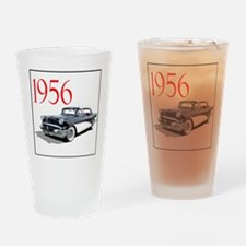 56BuickSp4dr-4 Drinking Glass